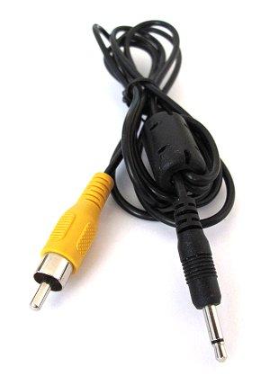 kabel audio jack 3 5 mm mono cinch male. Black Bedroom Furniture Sets. Home Design Ideas