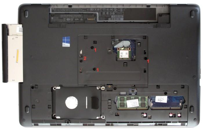 Notebook HP ProBook 470 G2 - přístup ke komponentům